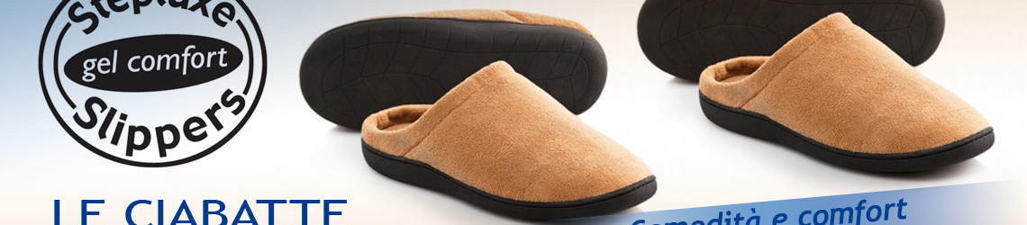 Step luxe pantofole